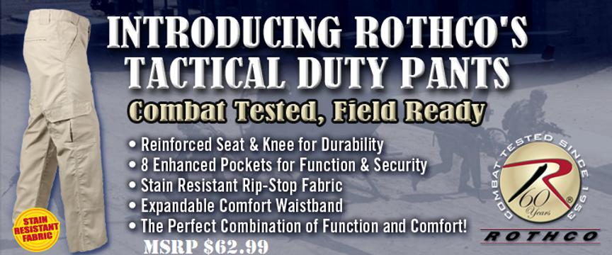 Rothco Tactical Duty Pants