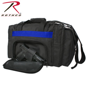 Rothco Concealed Carry Gear Bag-Thin Blue Line