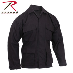 5920 Black Rip-Stop BDU Shirt