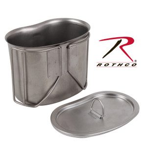 Rothco Stainless Steel Canteen Cup Lid