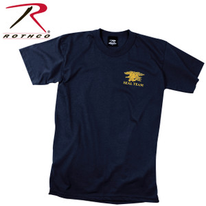 60030 Rothco Official Navy Seals Team Logo T-shirt