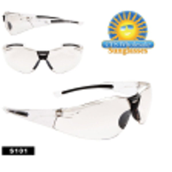 CTS Safety Glasses - Clear Lens Protective Glasses