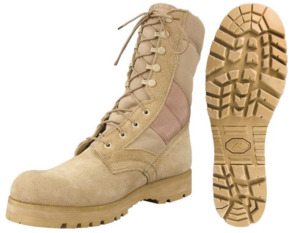 style 5257 Sierra Sole Tactical Desert Boots