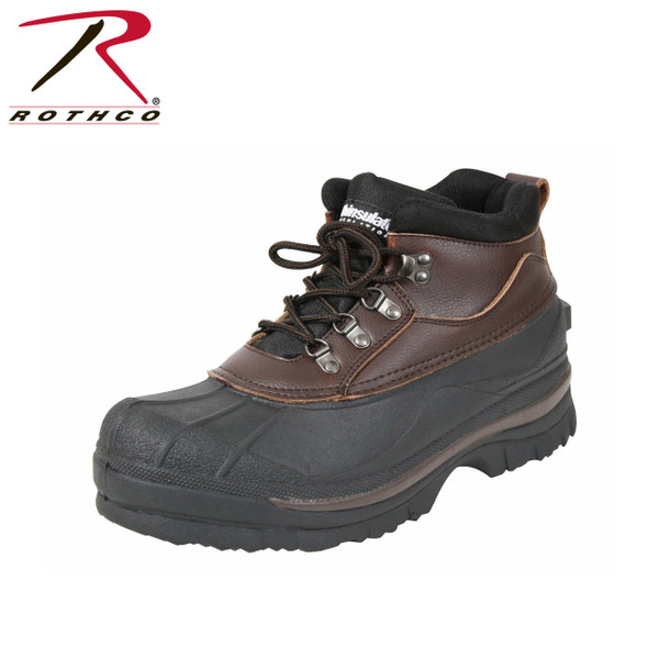 1c9460ddc Rothco's 5 Inch Cold Weather Hiking Boots are perfect for cold snowy and  wet conditions.