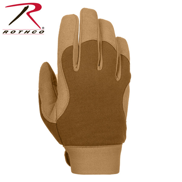 Military Mechanics Gloves-Coyote Brown