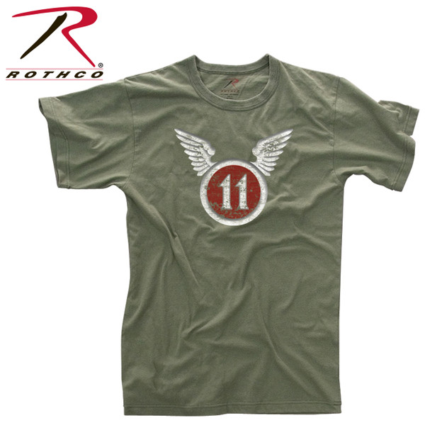 Rothco Vintage ''11th Airborne Division'' T-Shirt