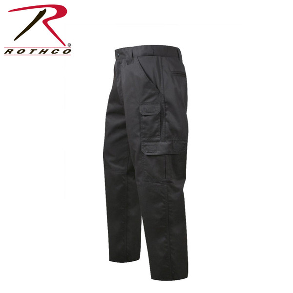 item #4765 BLACK Rothco Tactical Duty Pants Repels body fluids, stain resisitent, zipper fly SOLD SEPARATELY