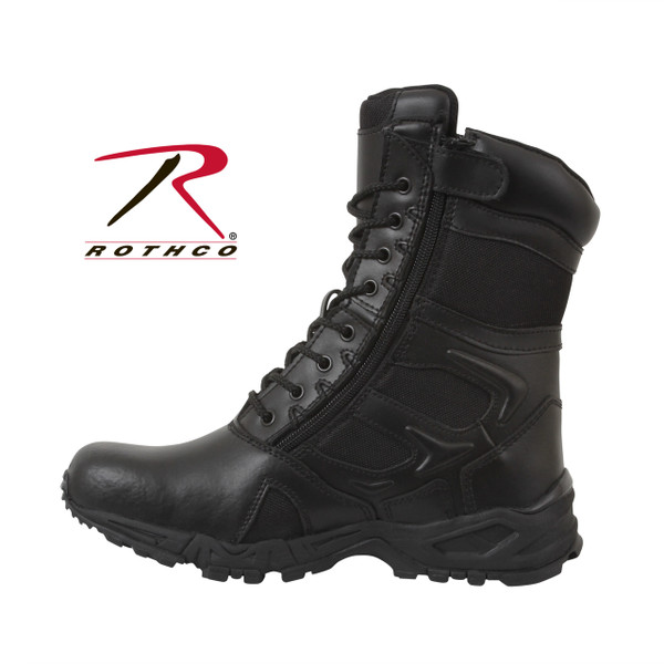 Rothco Forced Entry Deployment Boot With Side Zipper