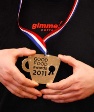 We've Won the 2011 Good Food Award!