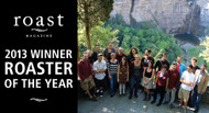 Gimme! Coffee Wins 2013 Roaster Of The Year Award!