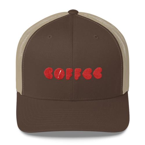 Love Coffee Trucker Cap