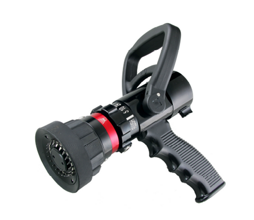 """Ally 1"""" Selectable flow nozzle complete with pistol grip 5-10-24-40 GPM"""