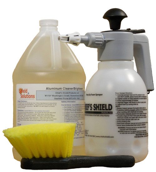 Shield Solutions Aluminum Cleaner Kit