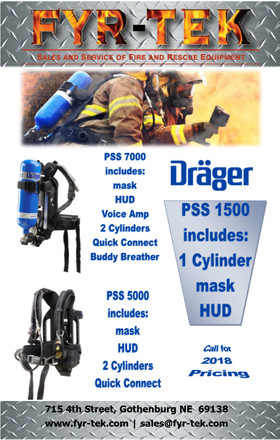 Drager SCBA Month here at FYR-TEK.