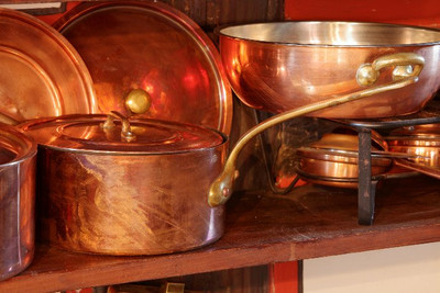 Types of Cookware: Copper