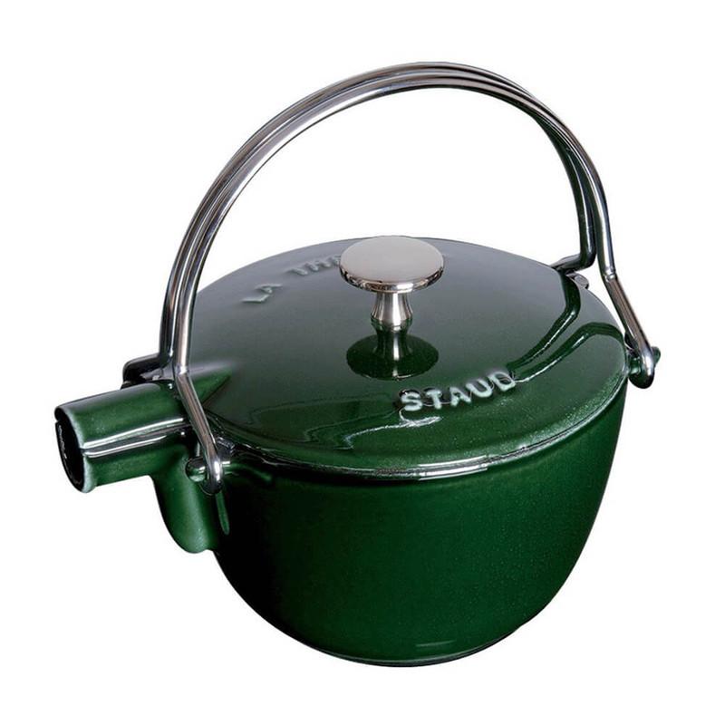 Staub Cast Iron Round Tea Kettle