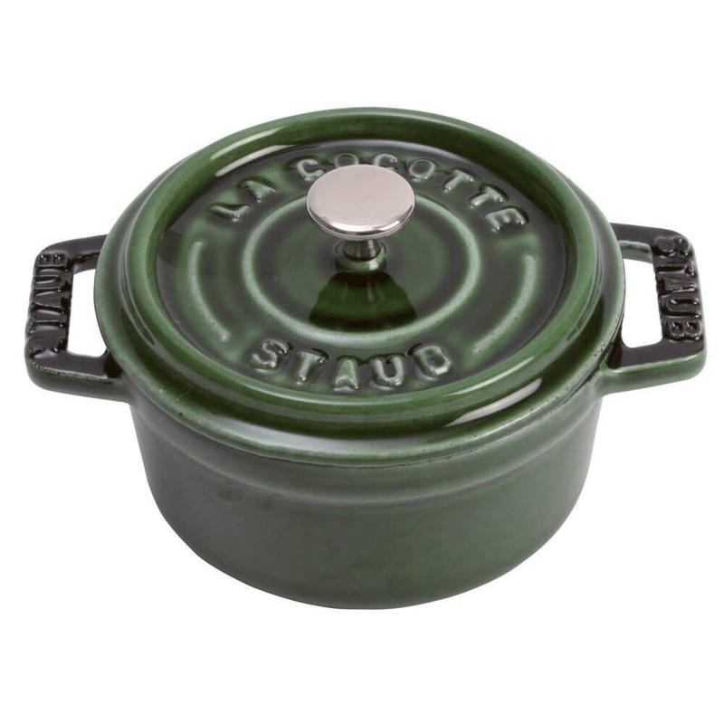 Staub Cast Iron Mini Round Cocotte
