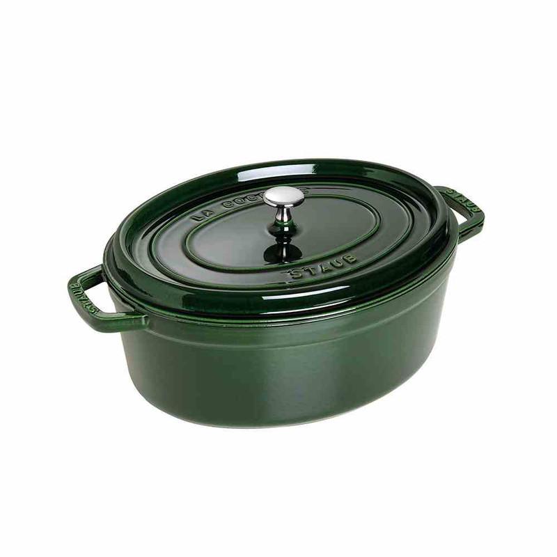 Staub Cast Iron Oval Cocotte, 7-Quart