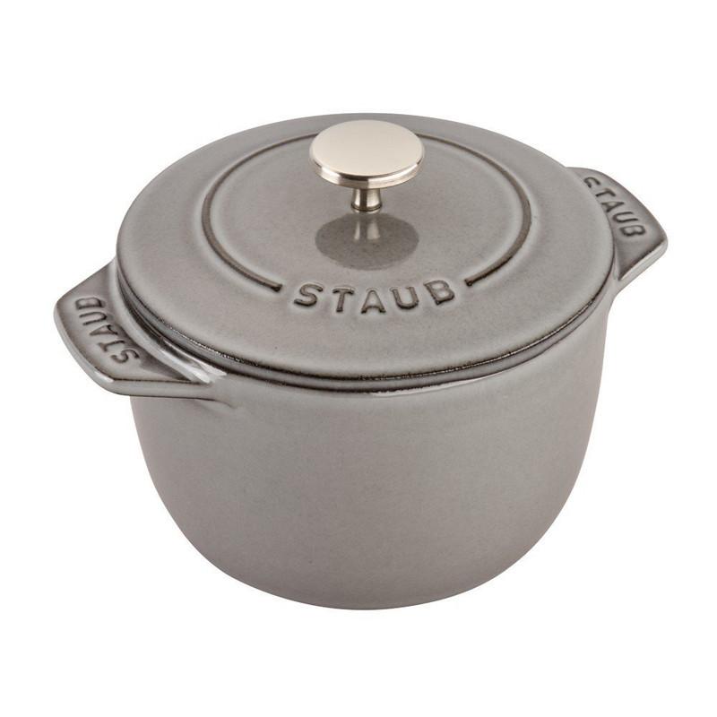 Staub Cast Iron Petite French Oven, 0.75-Quart