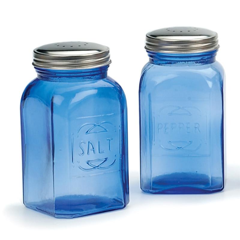 RSVP Endurance Retro Salt & Pepper Shakers
