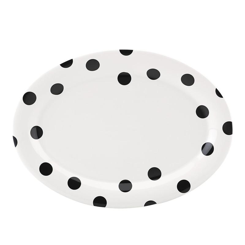 Kate Spade Deco Dot Platter