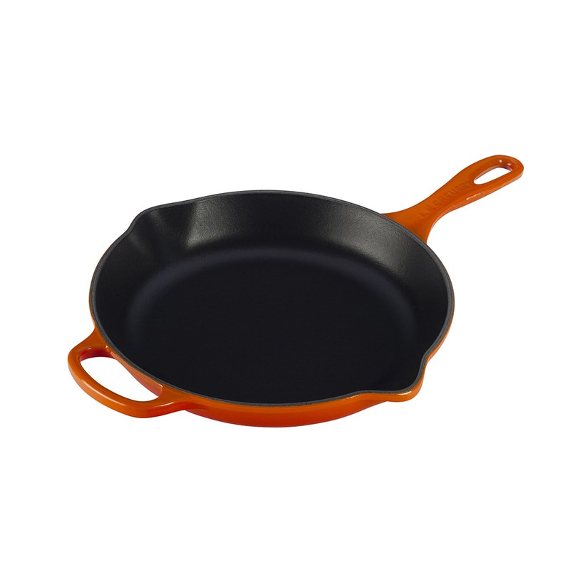 Le Creuset Cast Iron Signature Skillet in Flame
