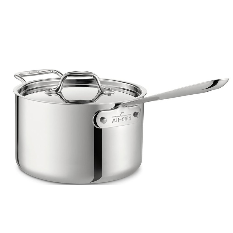 All-Clad Stainless Steel Sauce Pan With Loop Handle