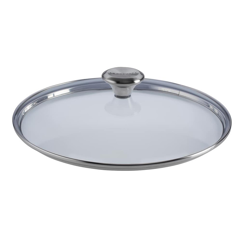 Le Creuset Glass Lid With Stainless Steel Knob