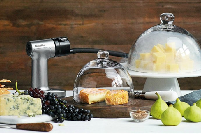 Just Add Smoke With the Breville Smoking Gun