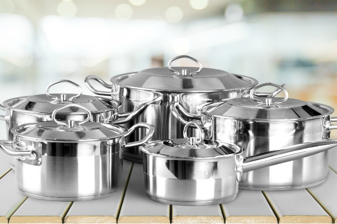 Types of Cookware: Stainless Steel