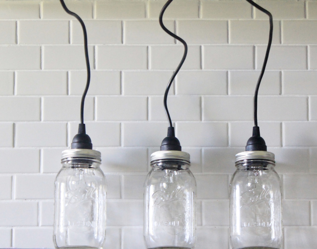 Mason jar lighting set of 3 hanging large clear mason jar pendant mason jar lighting set of 3 hanging large clear mason jar pendant lights handmade rustic country aloadofball Image collections