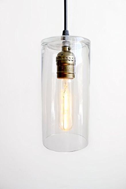 Glass Pendant Industrial Lighting Farmhouse Kitchen