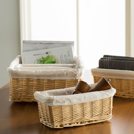 Five Ways to Use Baskets Around Your Home
