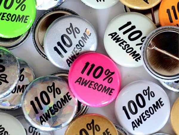 100% Awesome – Constant Quality Control
