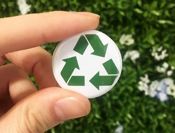 Green Manufacturing Button
