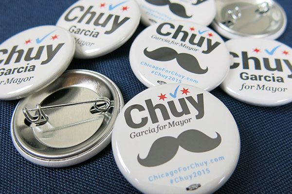 Campaign Buttons | Union Printed | Woman-Owned Business