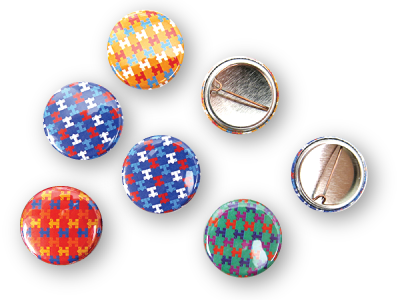 Custom Presidential Campaign Buttons