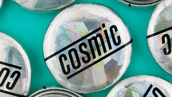 Cosmic Finish Buttons