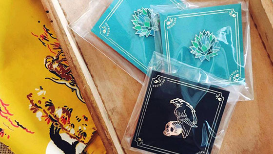 Enamel Pin Packaging - Bags