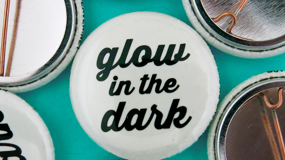 Glow in the Dark Buttons