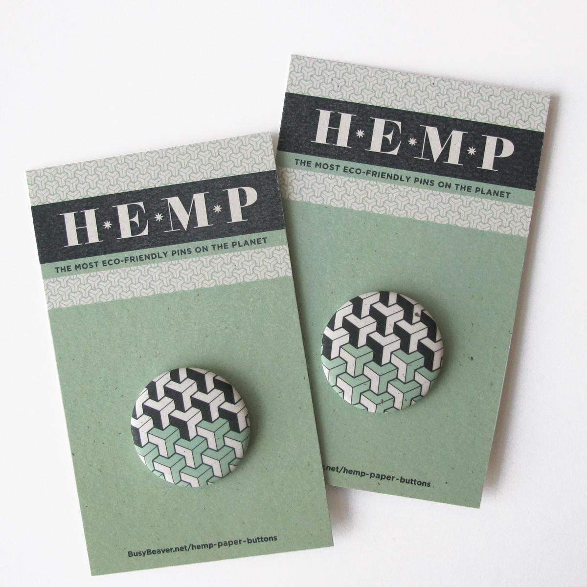 Hemp Buttons