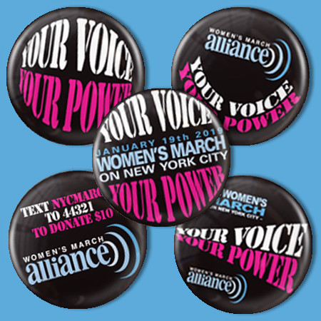 Women's March Alliance Button Pack
