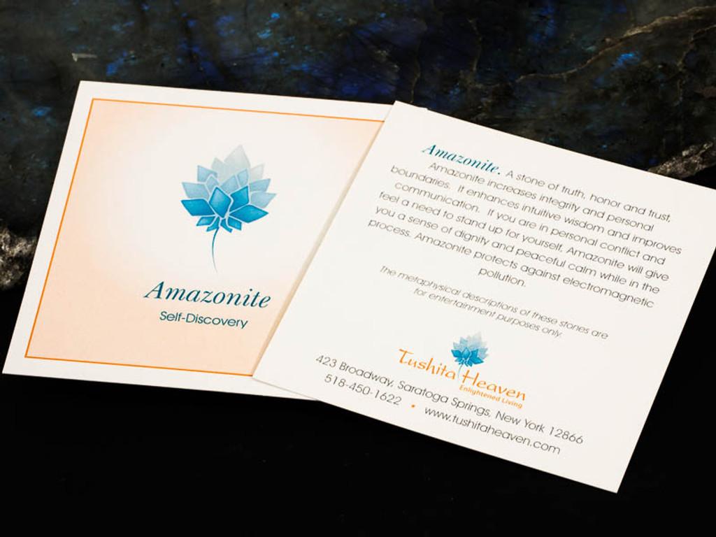 Amazonite Description Card