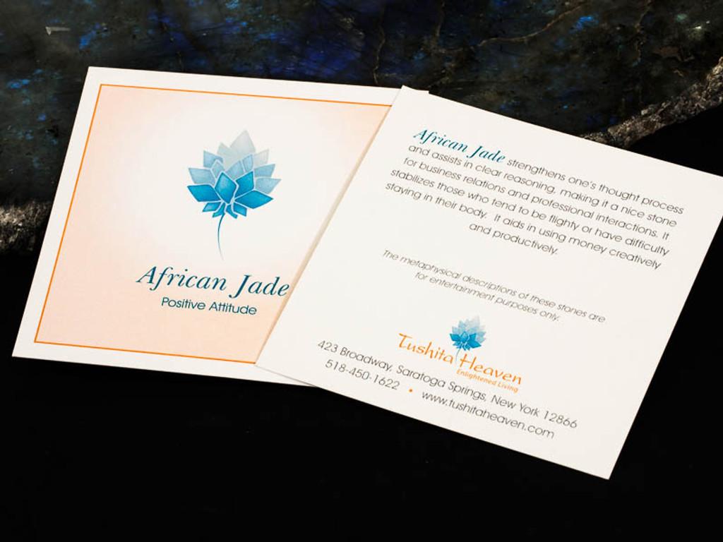 African Jade Card