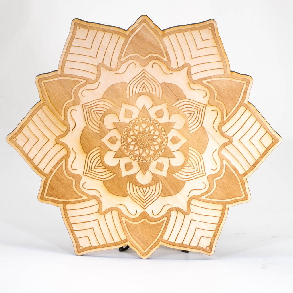 Mandala Grid Template