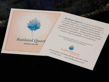 Rutilated Quartz Card