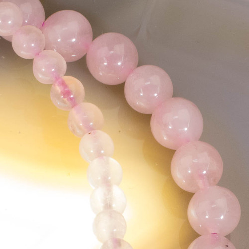 Rose Quartz Stretch Bracelet