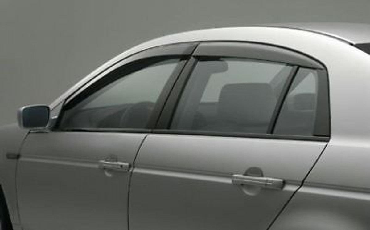 Window Visors Genuine OEM ACURA TL EndLess RPM - Acura ilx window visors