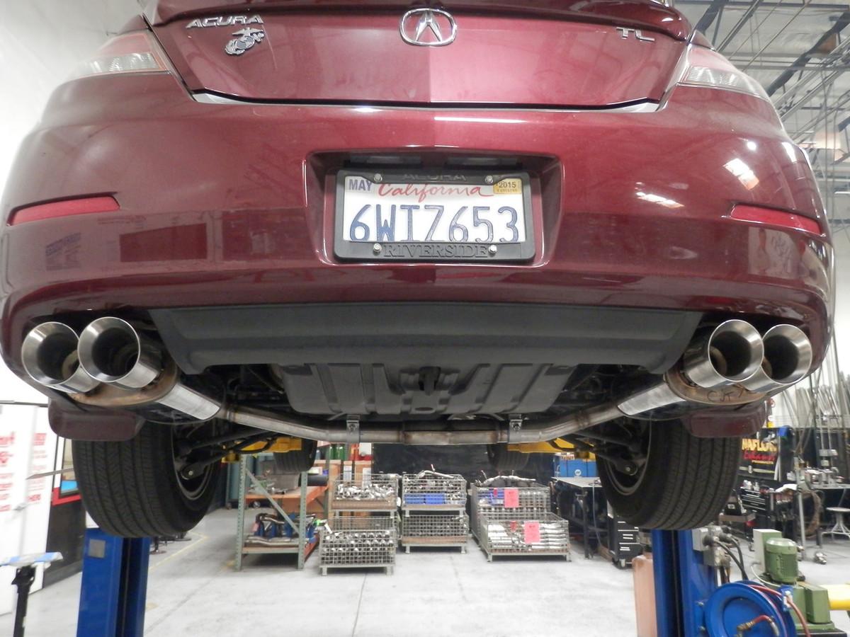 Acura Tl Performance Catback Exhaust - 2002 acura tl performance parts