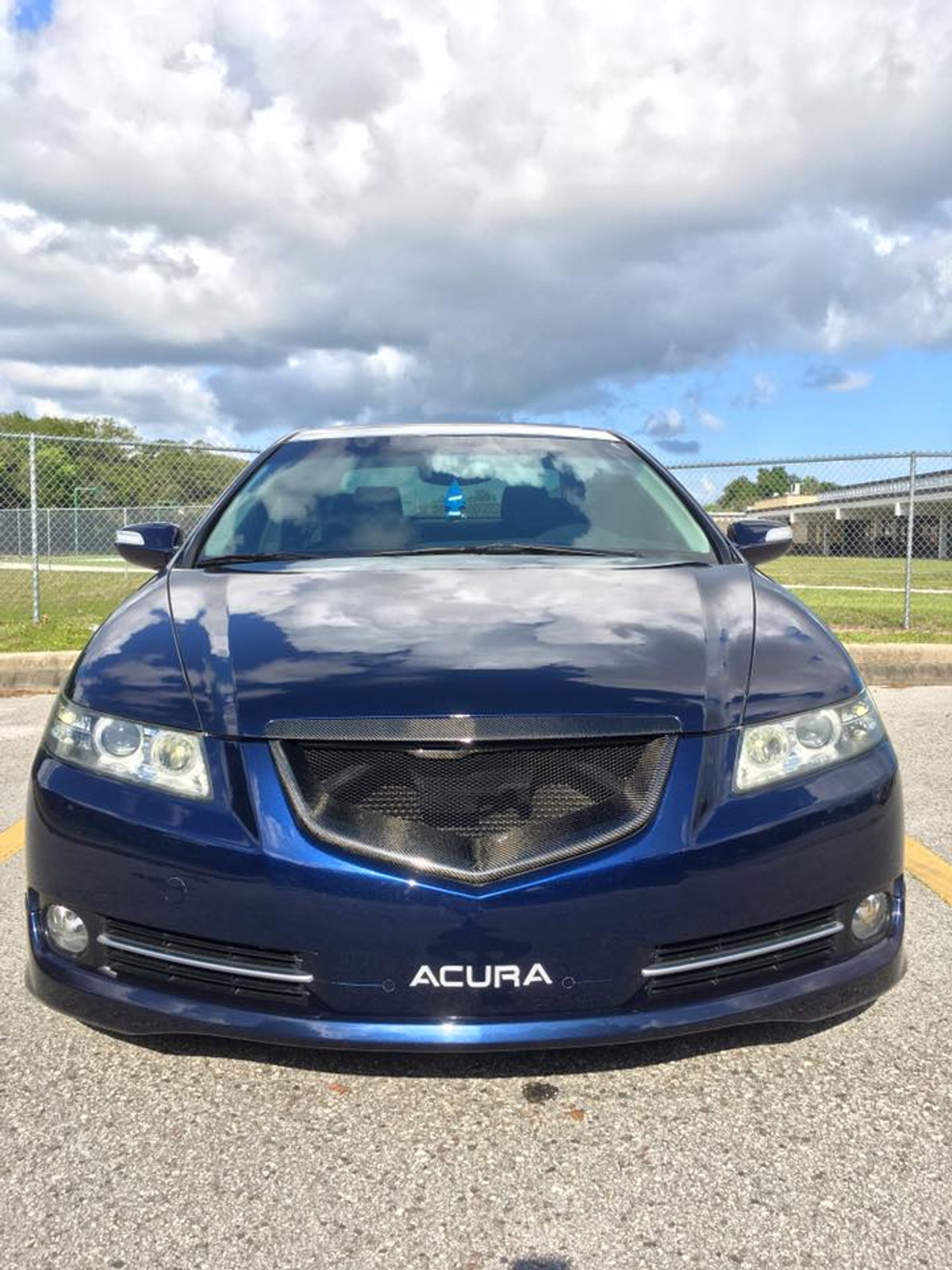 Shark Mouth Style Acura Tl Front Grill - 2006 acura rl grill